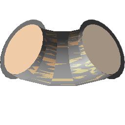 圆形弯头 - 节 - 法兰
