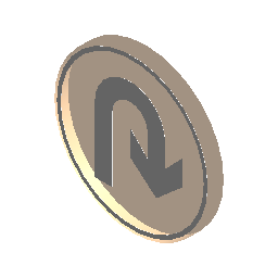 标志-允许右掉头