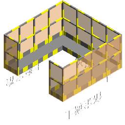 临时设施-柱焊接操作平台