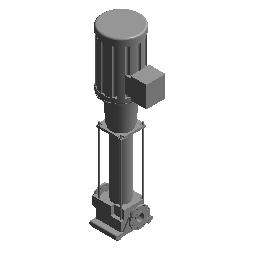 立式离心供水泵