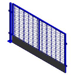 基坑边防护网