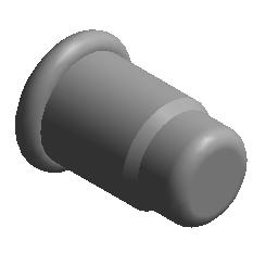管帽 - 卡压 - 不锈钢