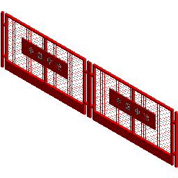 加工厂围栏
