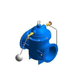 电磁遥控浮球阀_(DN450-600)
