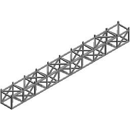 10个桁架