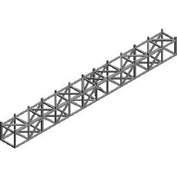 12个桁架