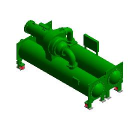 离心式制冷机组-开利(500RT)