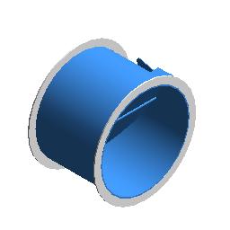 对开多叶调节阀 - 圆形